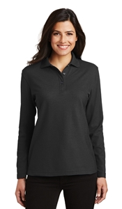 Picture of LADIES' LONG SLEEVE SILK TOUCH POLO